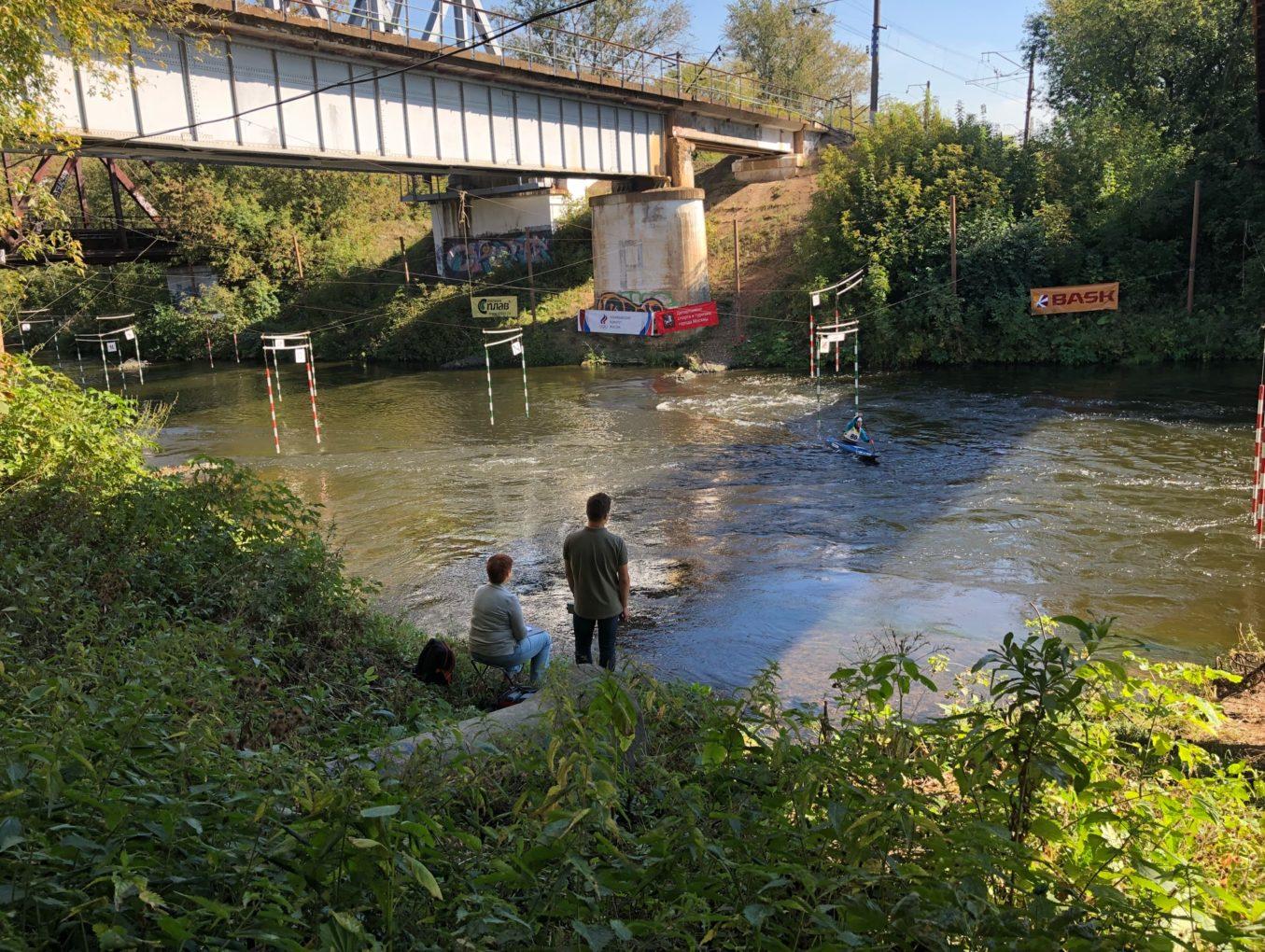 В связи со строительными работами на реке Сходня в районе моста тренировки запрещены