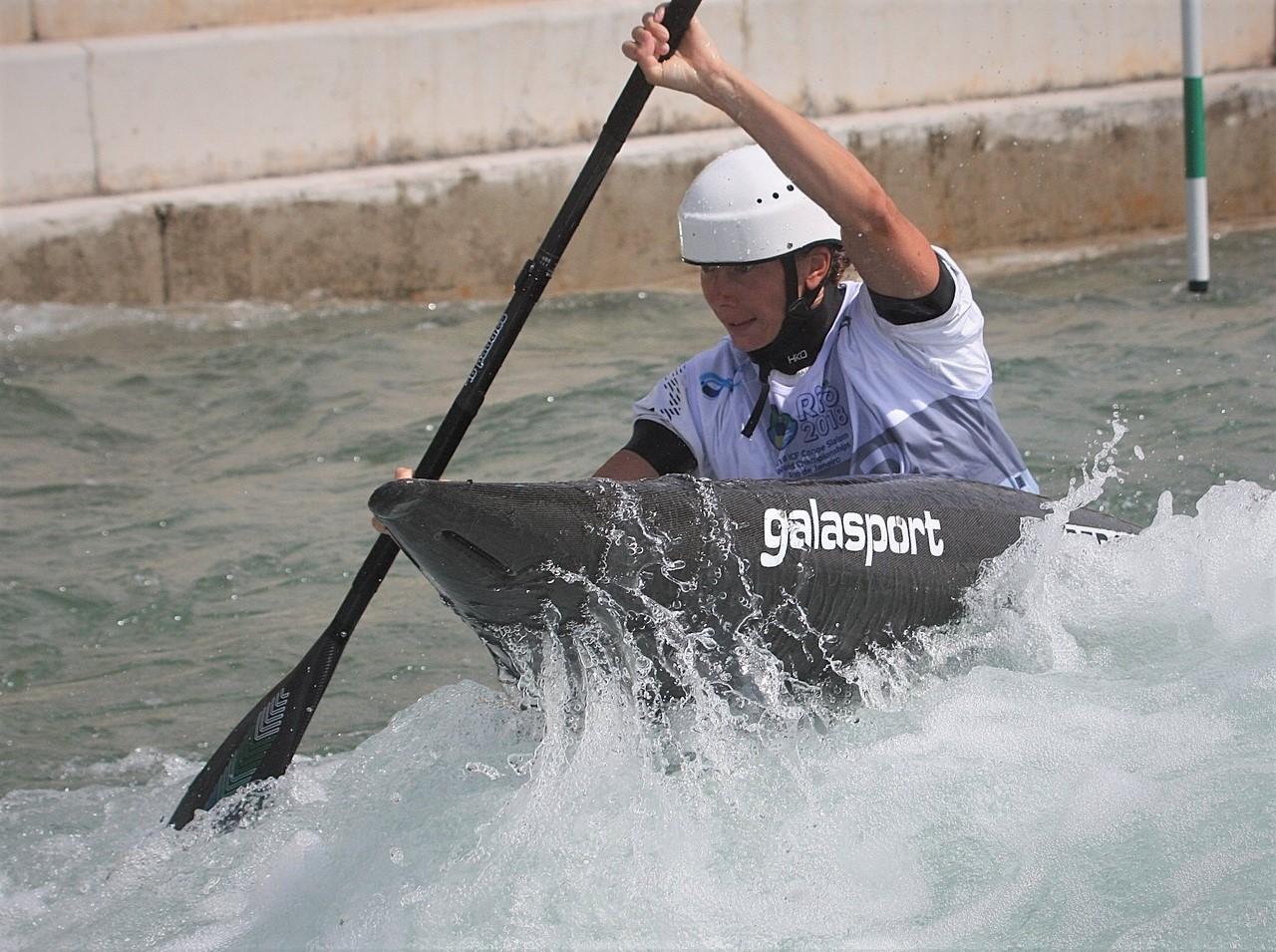 Екатерина Перова заняла третье место на первом этапе Кубка Пиренеев