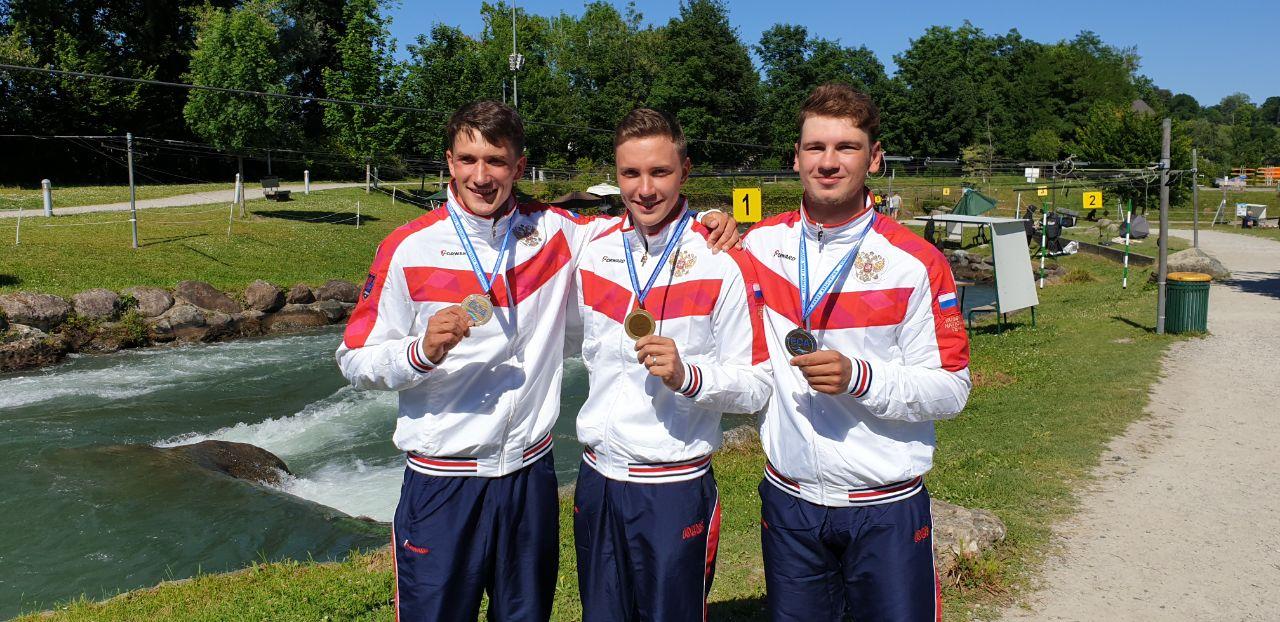 Россияне завоевали «бронзу» ЧЕ в классе каноэ-одиночек в командных гонках