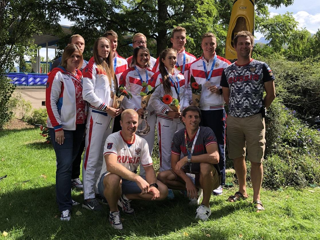 Сборная России завоевала две бронзовые медали на чемпионате мира в Испании