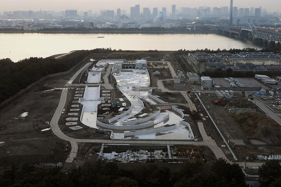 Сильный дождь внес коррективы в расписание первого дня тестовых соревнований в Токио