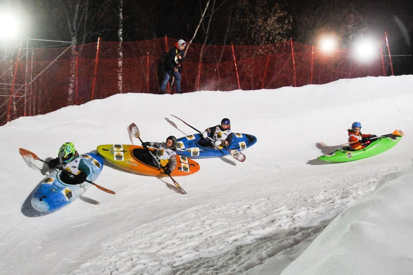Воробьёвы горы примут III турнир по сноукаякингу