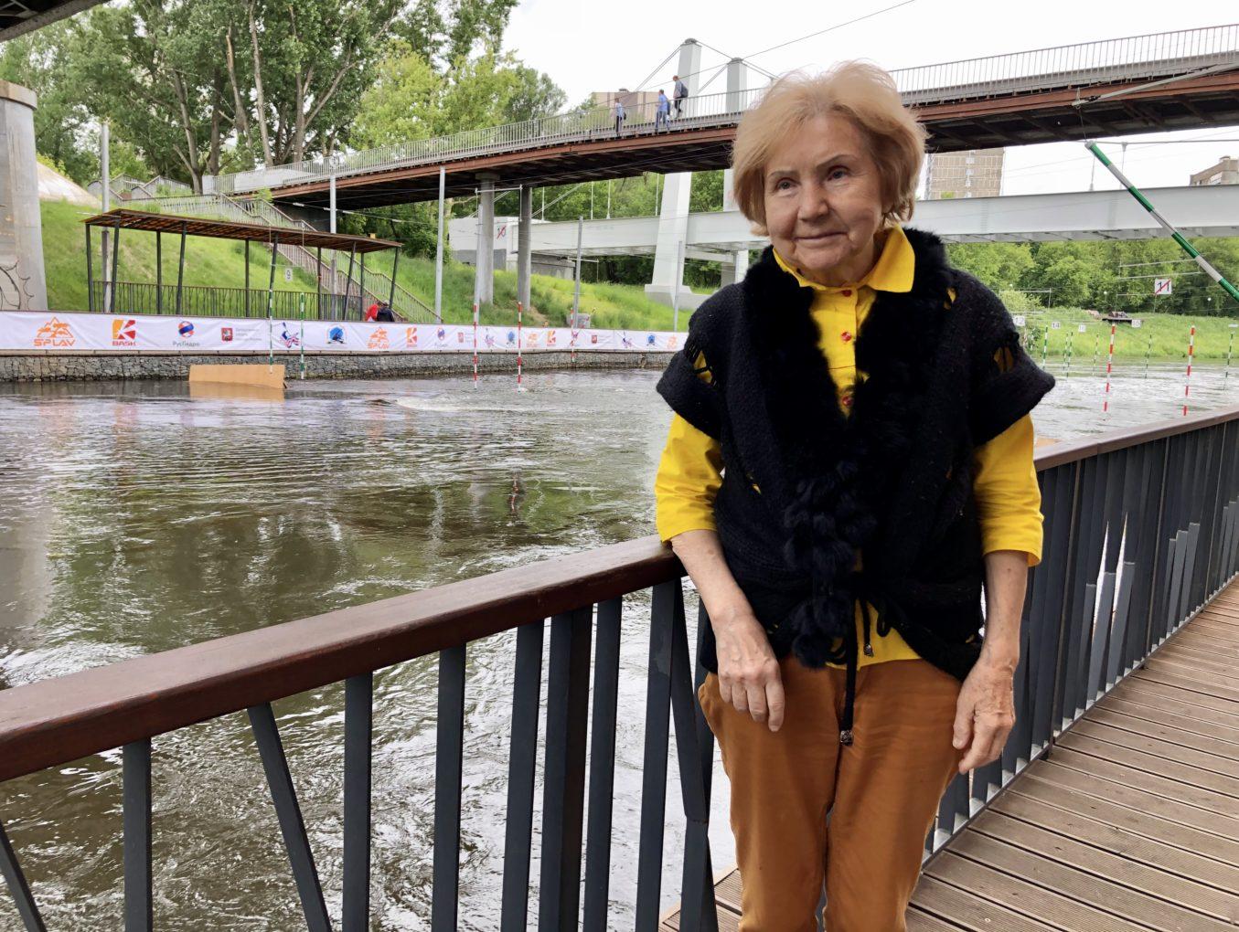 Чемпионат Москвы празднует 40 лет! Соревнования посетила первая чемпионка столицы Антонина Касаткина