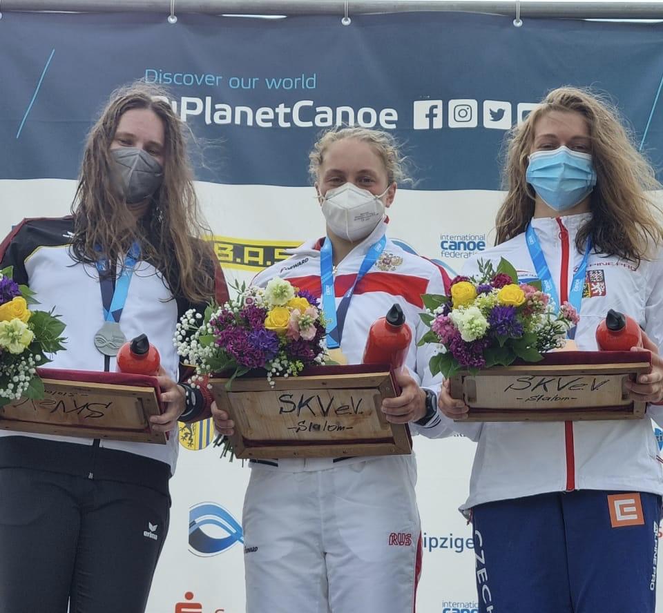 Ксения Крылова - победительница Кубка мира в Марклеберге